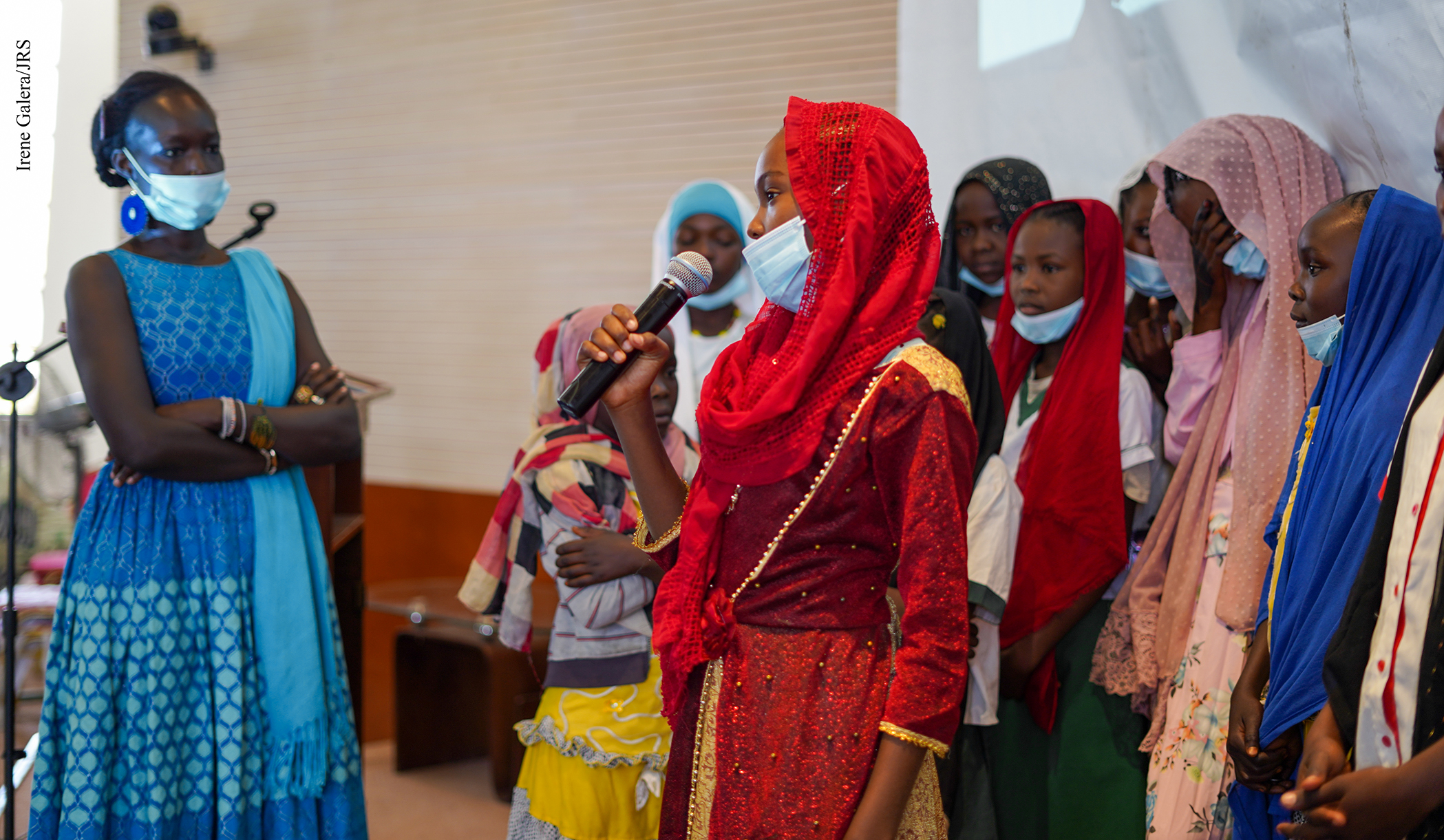 """Tchad Culture: """"Afaf et l'oeuf doré"""", un livre qui donne la parole aux filles réfugiées"""